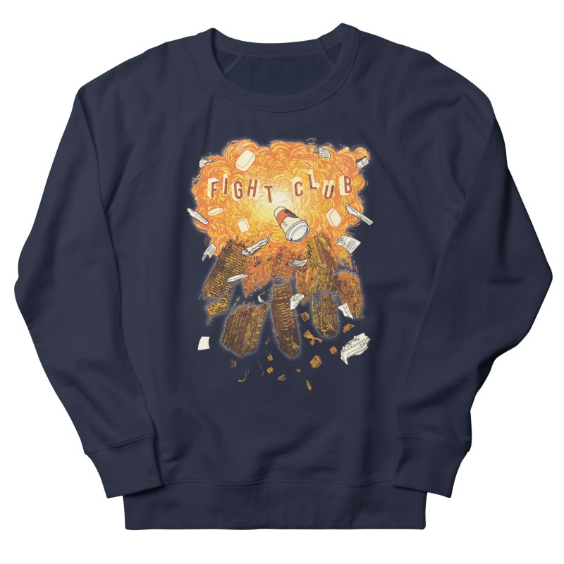Fight Club Women's French Terry Sweatshirt by The Official ChuckPalahniuk.net Shop