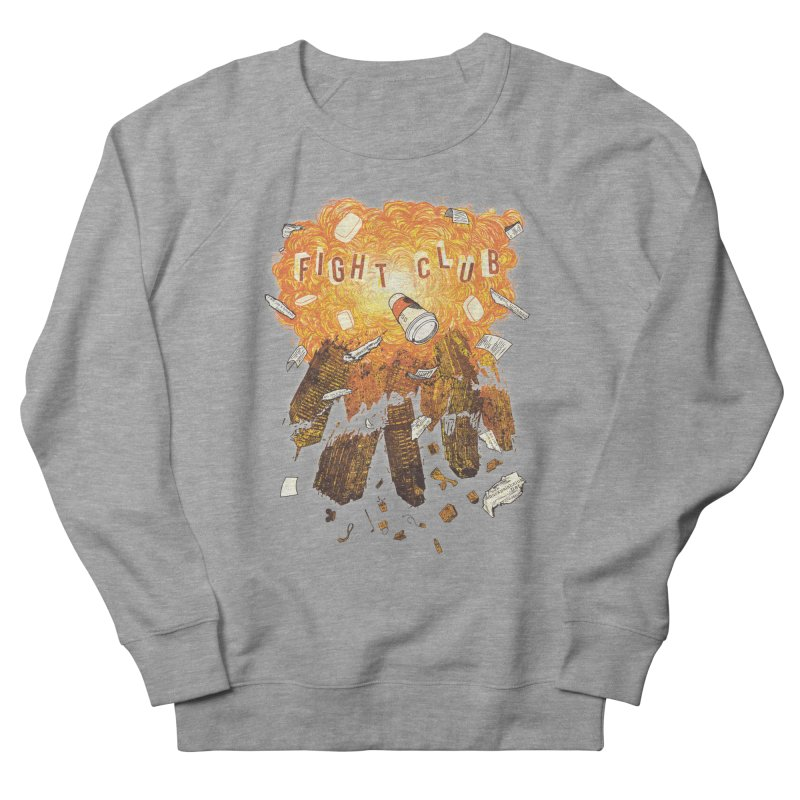 Fight Club Men's Sweatshirt by The Official ChuckPalahniuk.net Shop