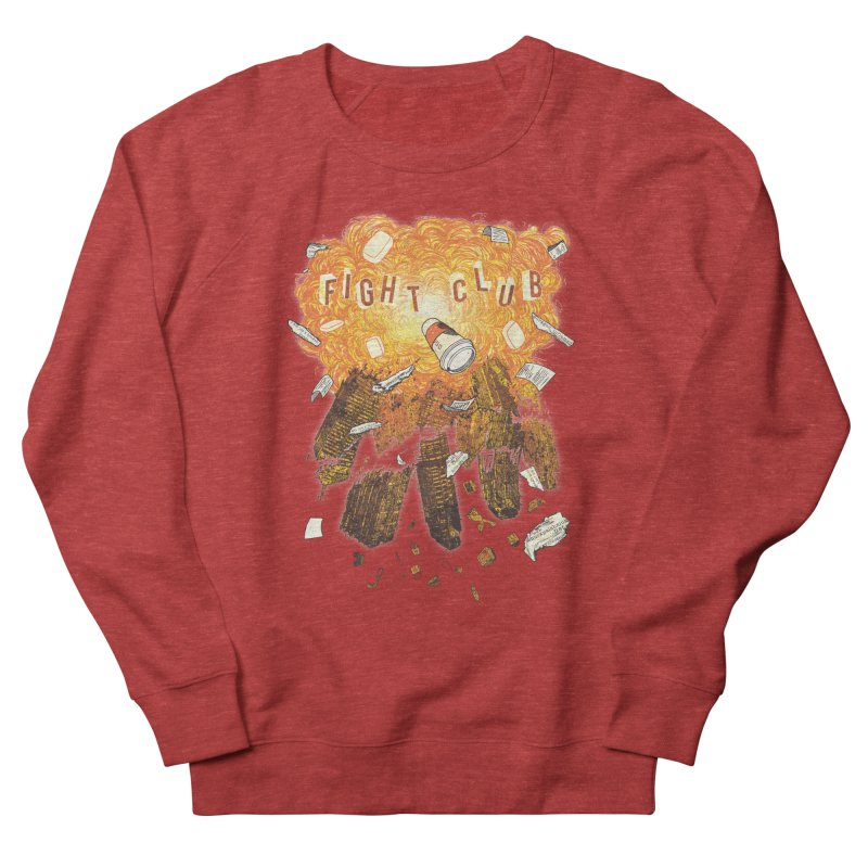 Fight Club Men's French Terry Sweatshirt by The Official ChuckPalahniuk.net Shop