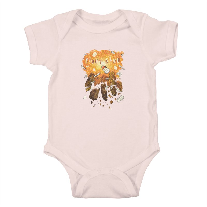 Fight Club Kids Baby Bodysuit by The Official ChuckPalahniuk.net Shop