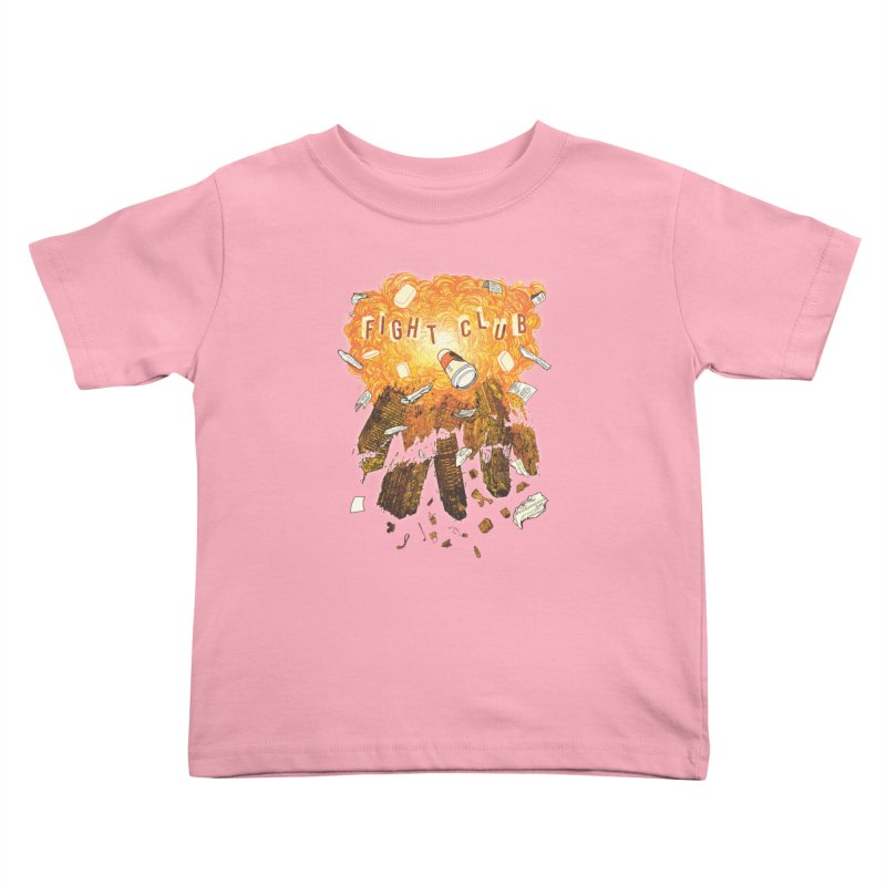 Fight Club Kids Toddler T-Shirt by The Official ChuckPalahniuk.net Shop