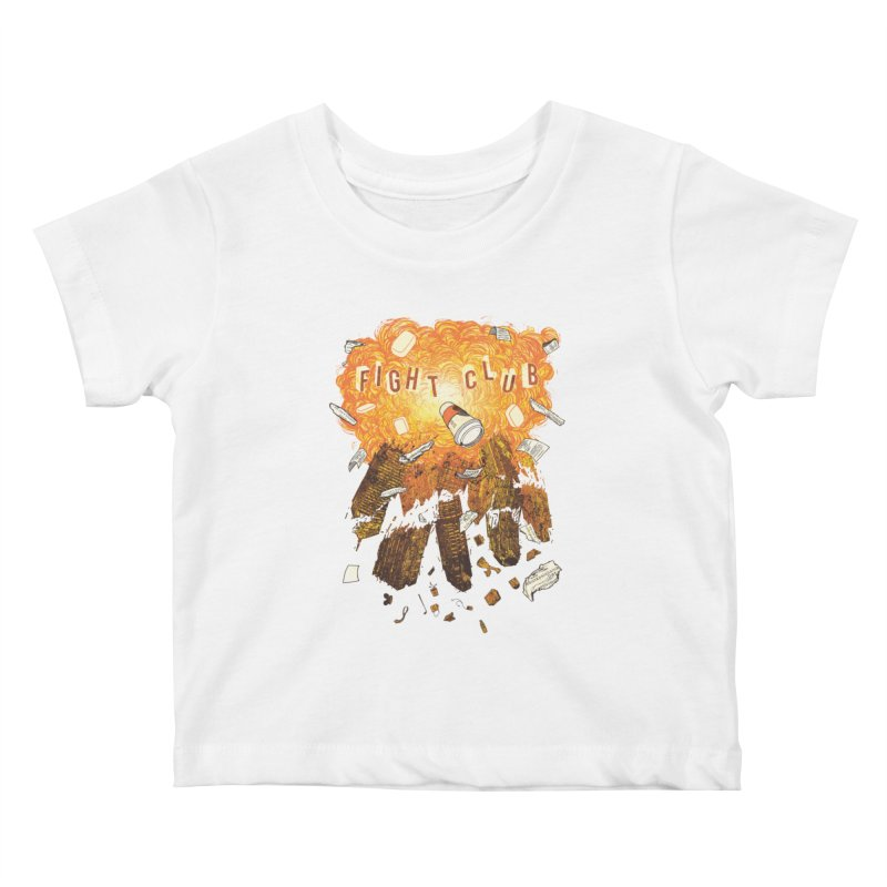 Fight Club Kids Baby T-Shirt by The Official ChuckPalahniuk.net Shop