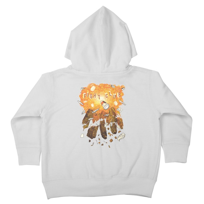 Fight Club Kids Toddler Zip-Up Hoody by The Official ChuckPalahniuk.net Shop