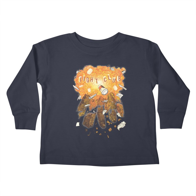 Fight Club Kids Toddler Longsleeve T-Shirt by The Official ChuckPalahniuk.net Shop