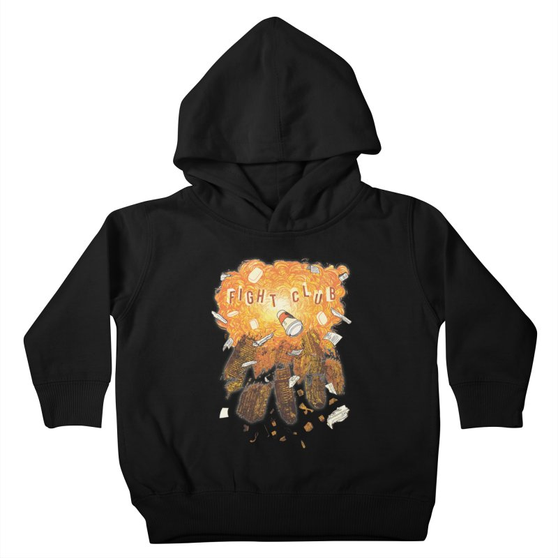 Fight Club Kids Toddler Pullover Hoody by The Official ChuckPalahniuk.net Shop