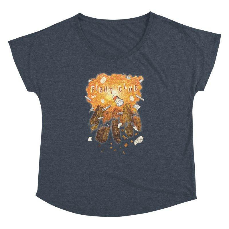 Fight Club Women's Dolman Scoop Neck by The Official ChuckPalahniuk.net Shop