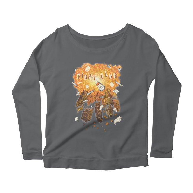 Fight Club Women's Scoop Neck Longsleeve T-Shirt by The Official ChuckPalahniuk.net Shop