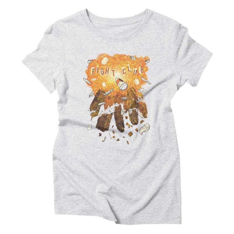 Fight Club Women's T-Shirt by The Official ChuckPalahniuk.net Shop