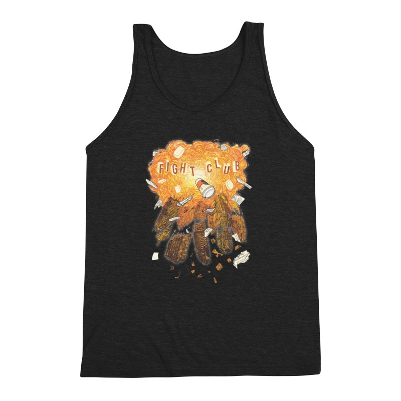 Fight Club Men's Triblend Tank by The Official ChuckPalahniuk.net Shop