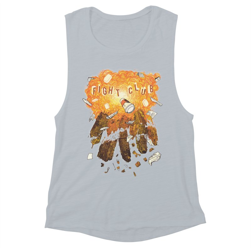 Fight Club Women's Muscle Tank by The Official ChuckPalahniuk.net Shop