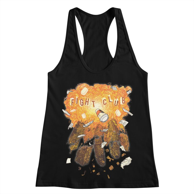 Fight Club Women's Racerback Tank by The Official ChuckPalahniuk.net Shop