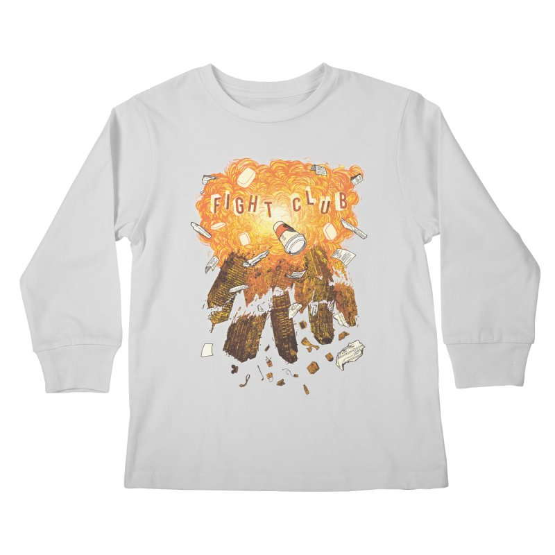 Fight Club Kids Longsleeve T-Shirt by The Official ChuckPalahniuk.net Shop
