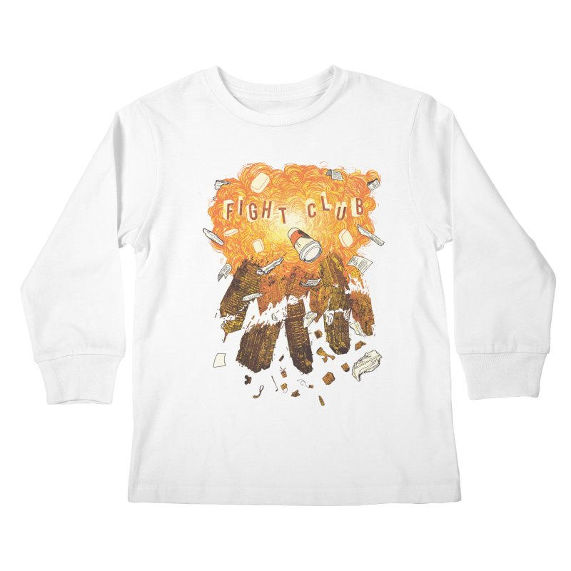 Fight Club Kids Longsleeve T-Shirt by The Official ChuckPalahniuk.net Shop