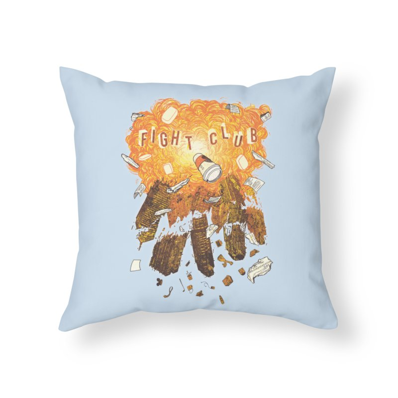 Fight Club Home Throw Pillow by The Official ChuckPalahniuk.net Shop