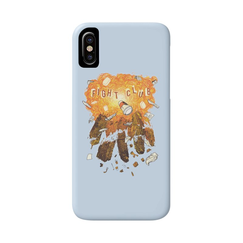 Fight Club Accessories Phone Case by The Official ChuckPalahniuk.net Shop