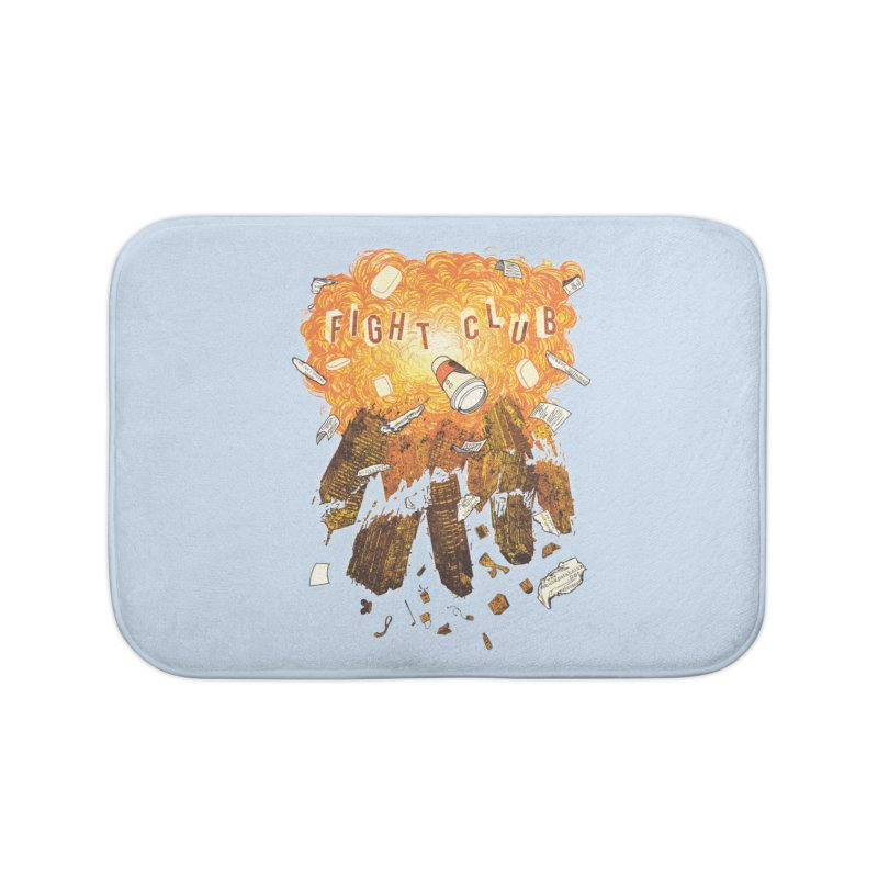 Fight Club Home Bath Mat by The Official ChuckPalahniuk.net Shop