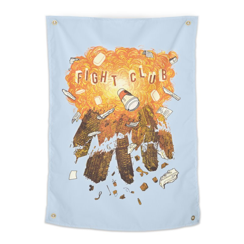 Fight Club Home Tapestry by The Official ChuckPalahniuk.net Shop