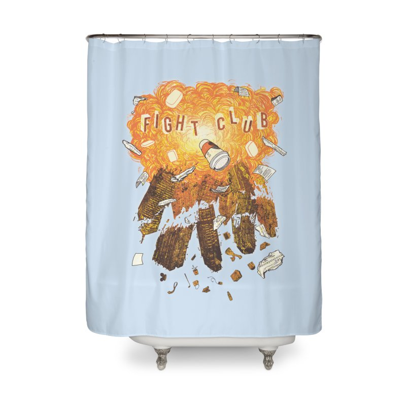 Fight Club Home Shower Curtain by The Official ChuckPalahniuk.net Shop