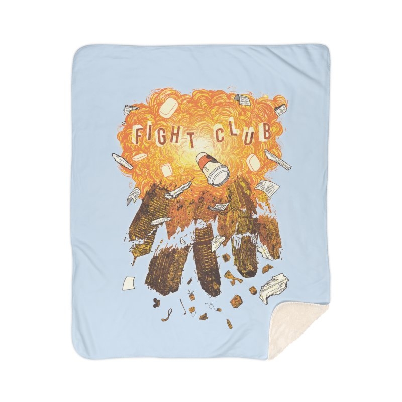 Fight Club Home Blanket by The Official ChuckPalahniuk.net Shop