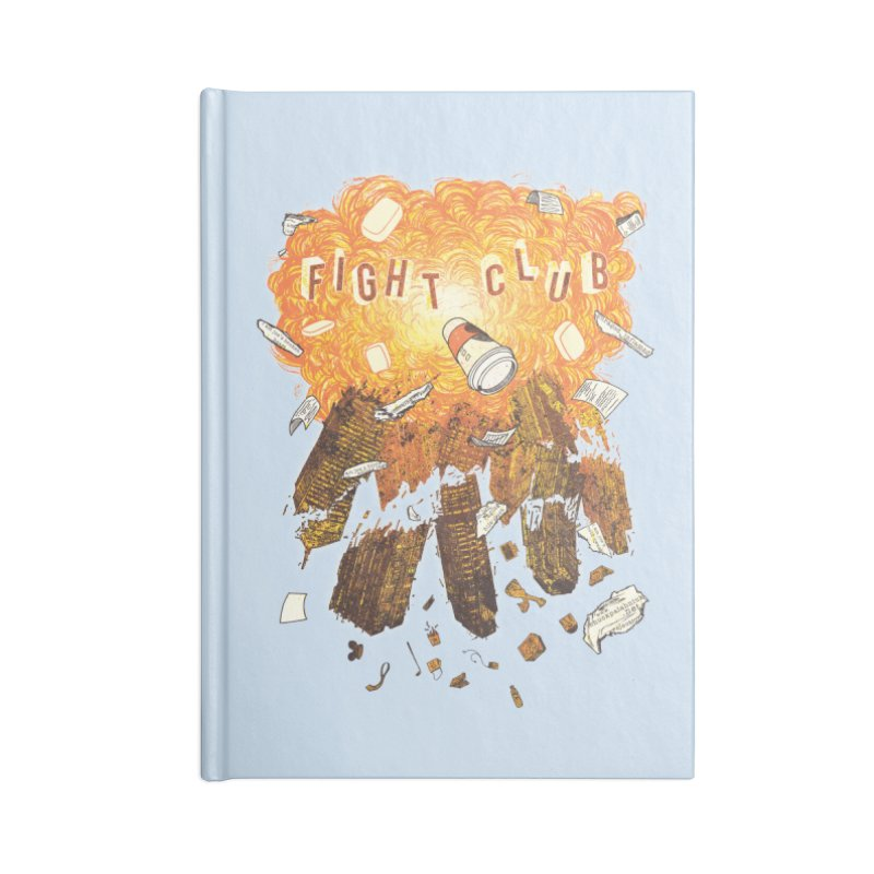 Fight Club Accessories Notebook by The Official ChuckPalahniuk.net Shop