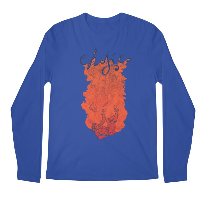Choke Men's Regular Longsleeve T-Shirt by The Official ChuckPalahniuk.net Shop