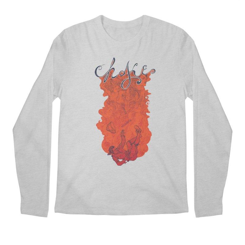 Choke Men's Regular Longsleeve T-Shirt by The Official ChuckPalahniuk.net Shop