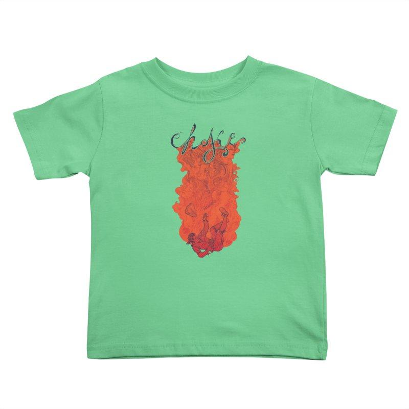 Choke Kids Toddler T-Shirt by The Official ChuckPalahniuk.net Shop