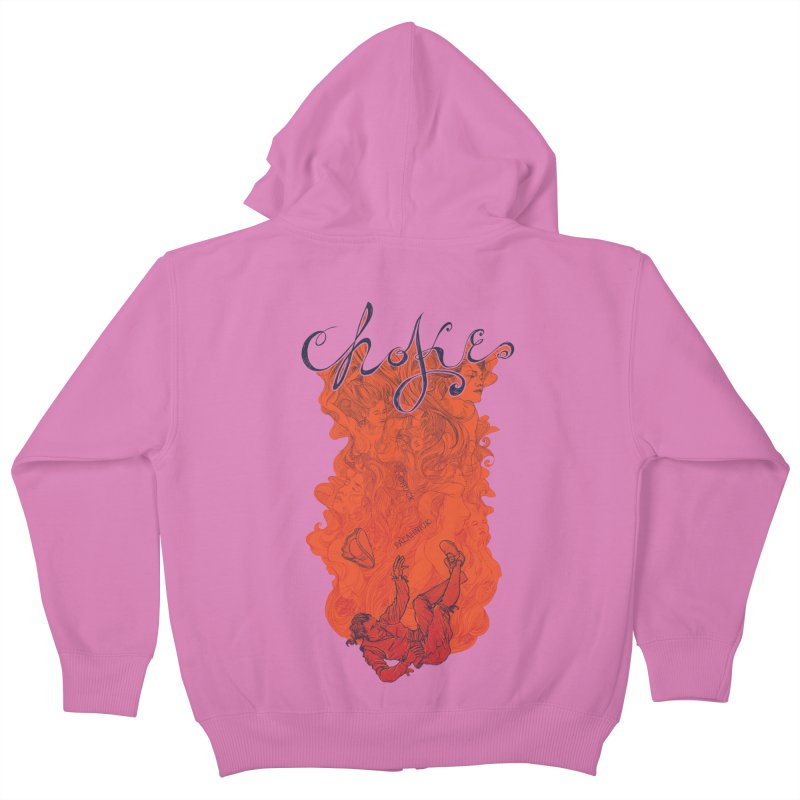 Choke Kids Zip-Up Hoody by The Official ChuckPalahniuk.net Shop