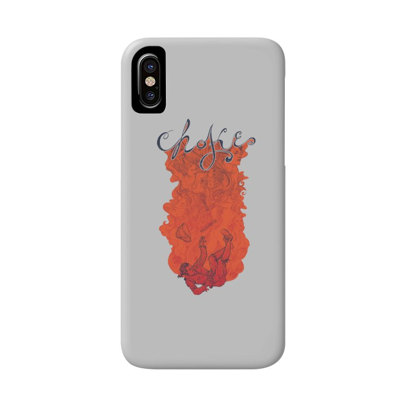 Choke Accessories Phone Case by The Official ChuckPalahniuk.net Shop
