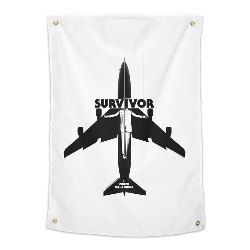 Survivor Home Tapestry by The Official ChuckPalahniuk.net Shop