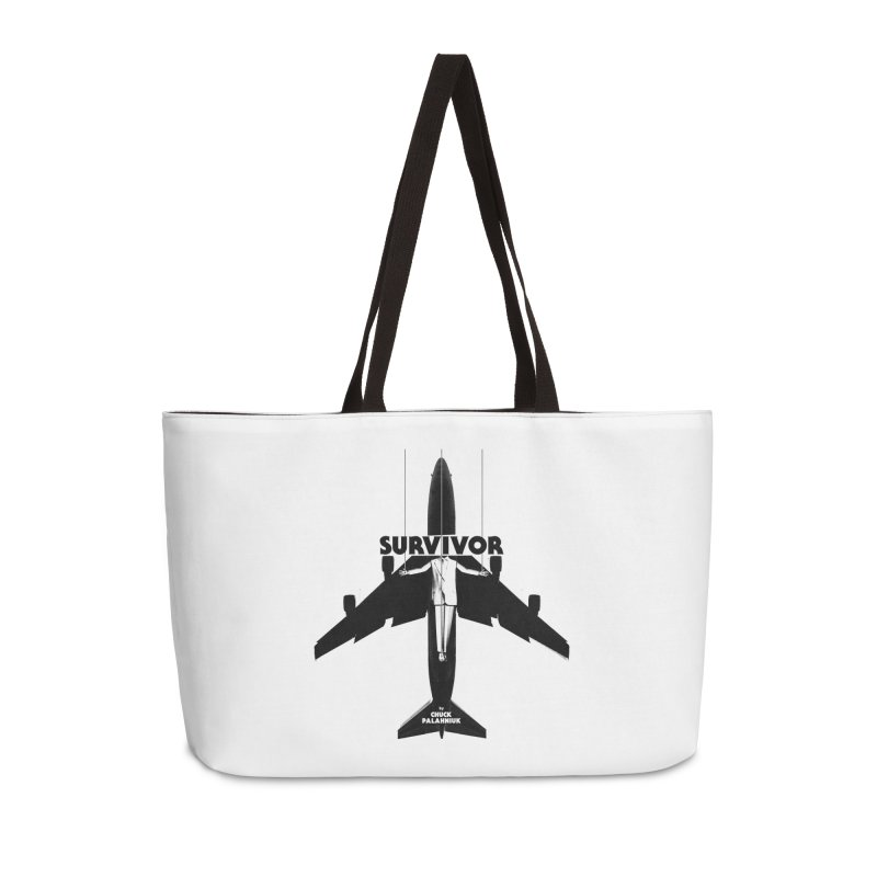 Survivor Accessories Weekender Bag Bag by The Official ChuckPalahniuk.net Shop