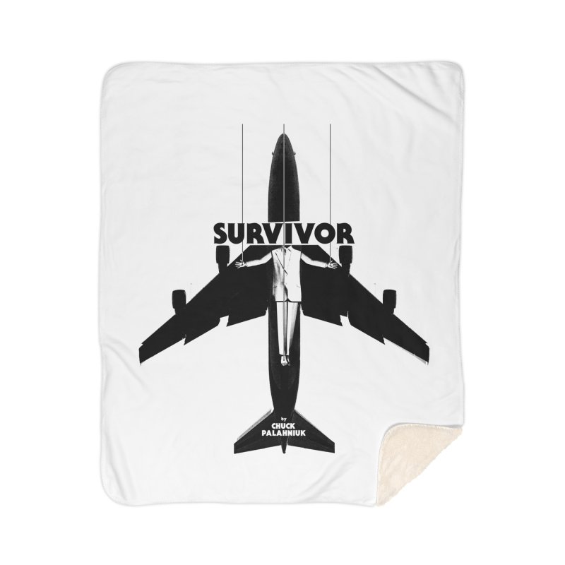 Survivor Home Blanket by The Official ChuckPalahniuk.net Shop