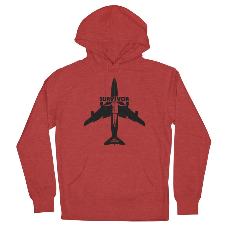 Survivor Women's French Terry Pullover Hoody by The Official ChuckPalahniuk.net Shop