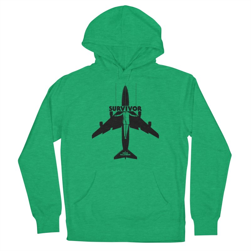Survivor Men's French Terry Pullover Hoody by The Official ChuckPalahniuk.net Shop