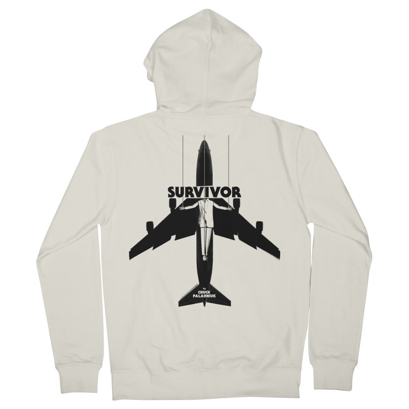 Survivor Men's Zip-Up Hoody by The Official ChuckPalahniuk.net Shop