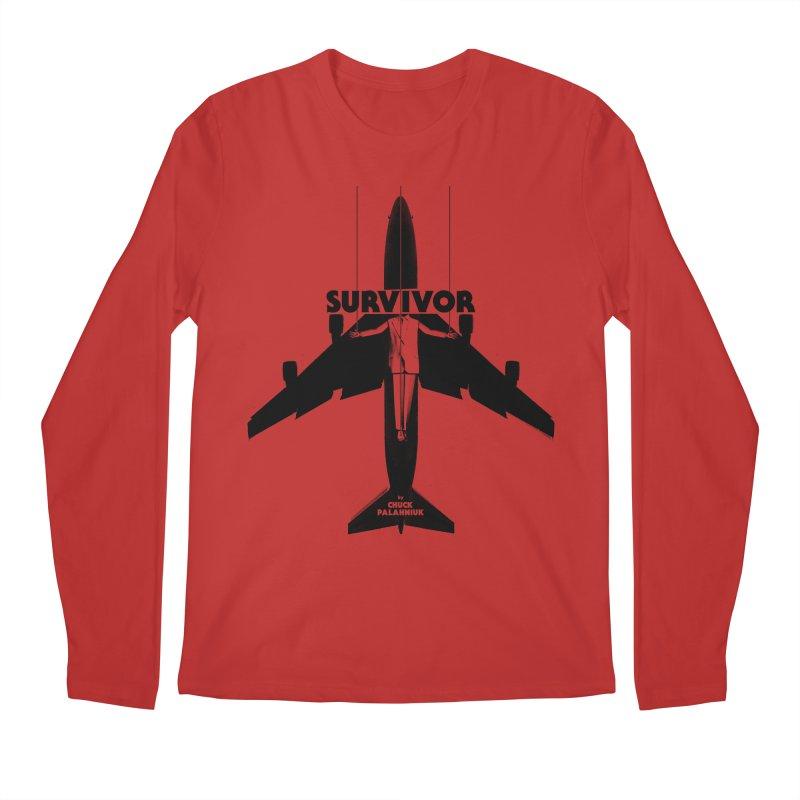 Survivor Men's Regular Longsleeve T-Shirt by The Official ChuckPalahniuk.net Shop