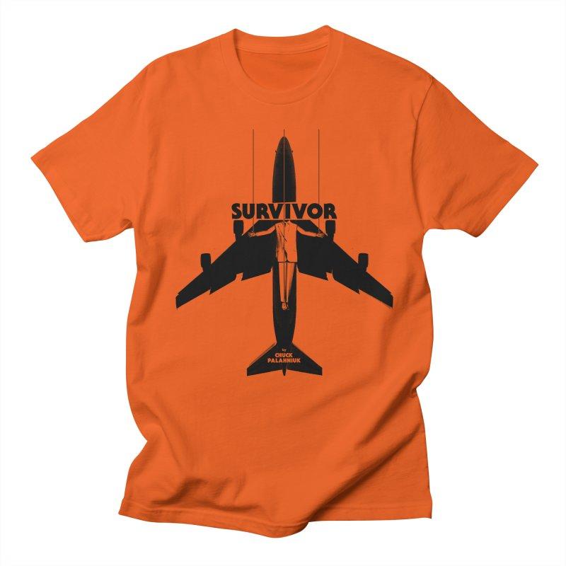 Survivor Men's Regular T-Shirt by The Official ChuckPalahniuk.net Shop