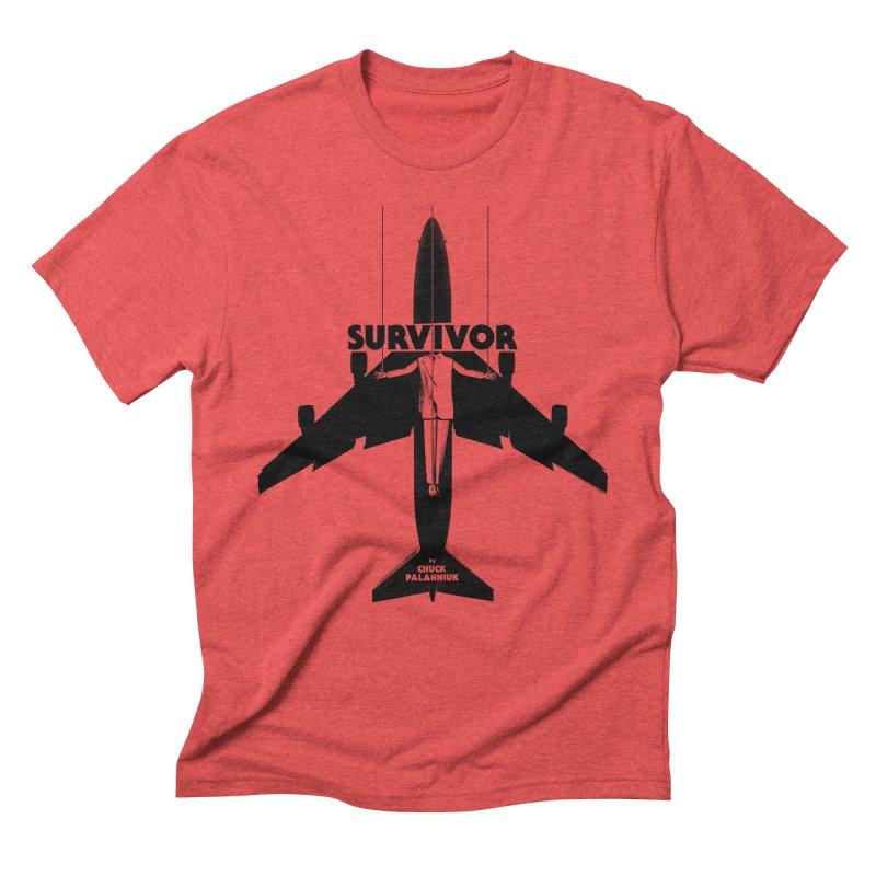 Survivor Men's Triblend T-Shirt by The Official ChuckPalahniuk.net Shop