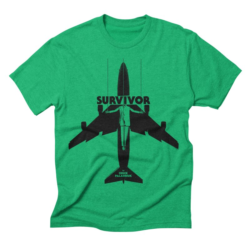 Survivor Men's Triblend T-shirt by The Official ChuckPalahniuk.net Shop