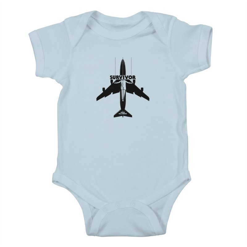 Survivor Kids Baby Bodysuit by The Official ChuckPalahniuk.net Shop