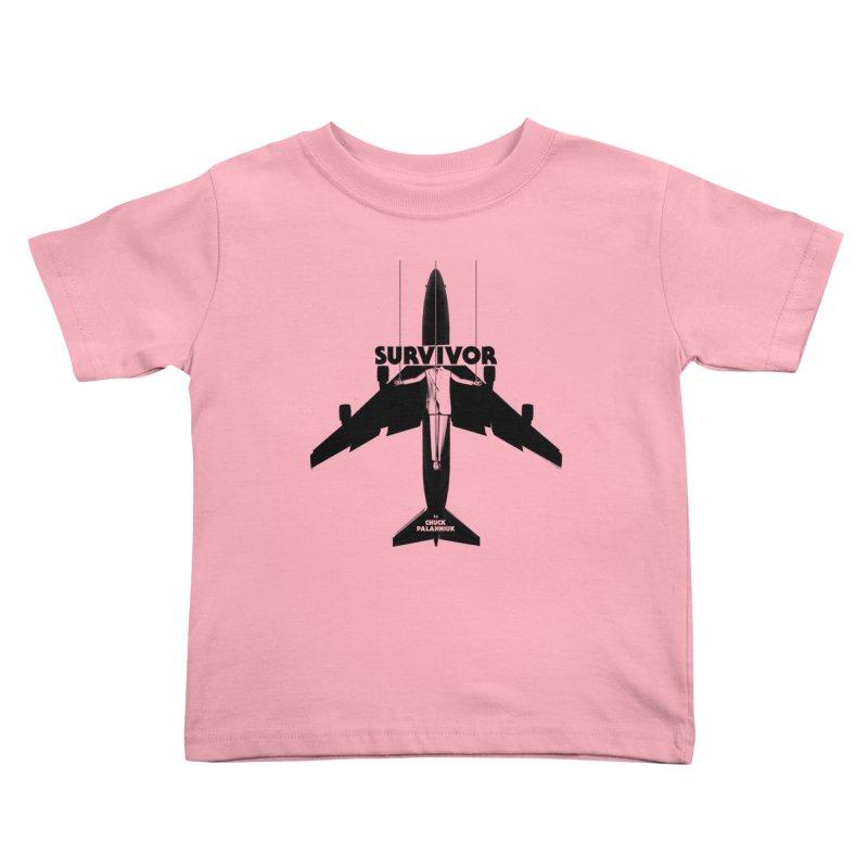 Survivor Kids Toddler T-Shirt by The Official ChuckPalahniuk.net Shop