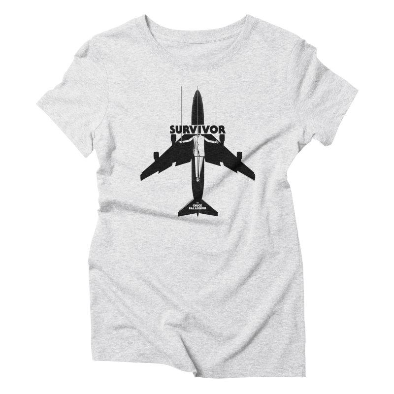 Survivor Women's T-Shirt by The Official ChuckPalahniuk.net Shop