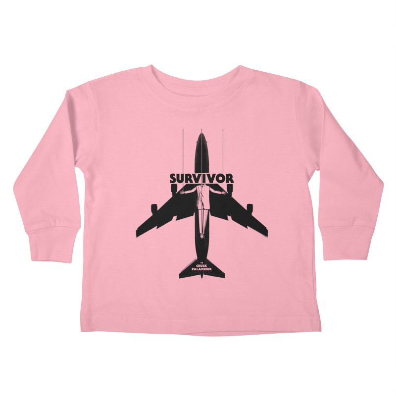 Survivor Kids Toddler Longsleeve T-Shirt by The Official ChuckPalahniuk.net Shop