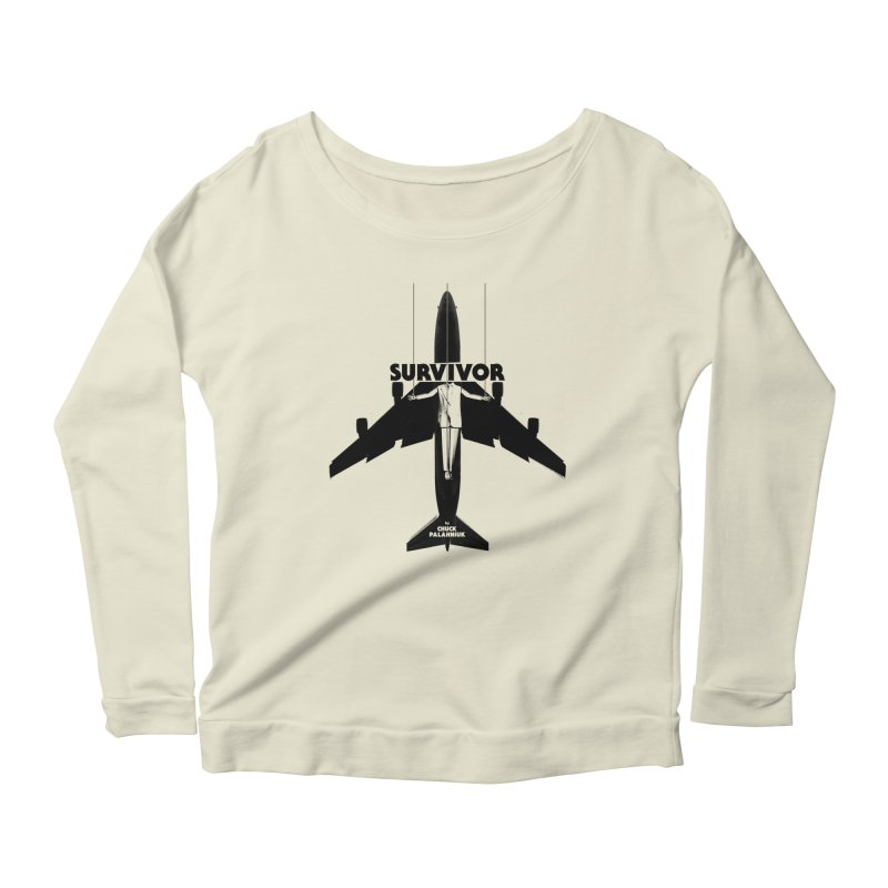 Survivor Women's Scoop Neck Longsleeve T-Shirt by The Official ChuckPalahniuk.net Shop