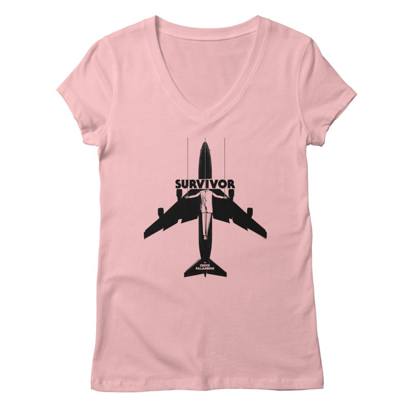 Survivor Women's V-Neck by The Official ChuckPalahniuk.net Shop