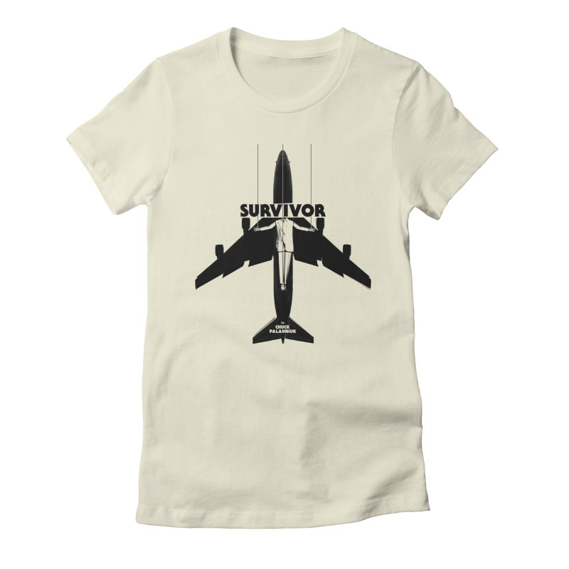 Survivor Women's Fitted T-Shirt by The Official ChuckPalahniuk.net Shop