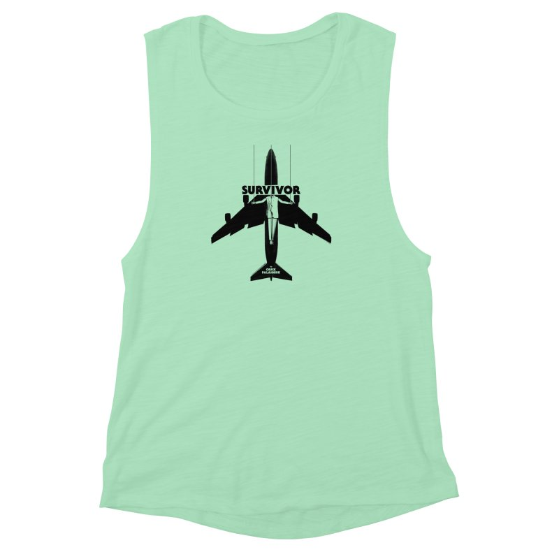 Survivor Women's Muscle Tank by The Official ChuckPalahniuk.net Shop