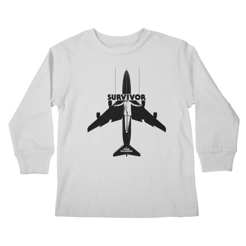 Survivor Kids Longsleeve T-Shirt by The Official ChuckPalahniuk.net Shop