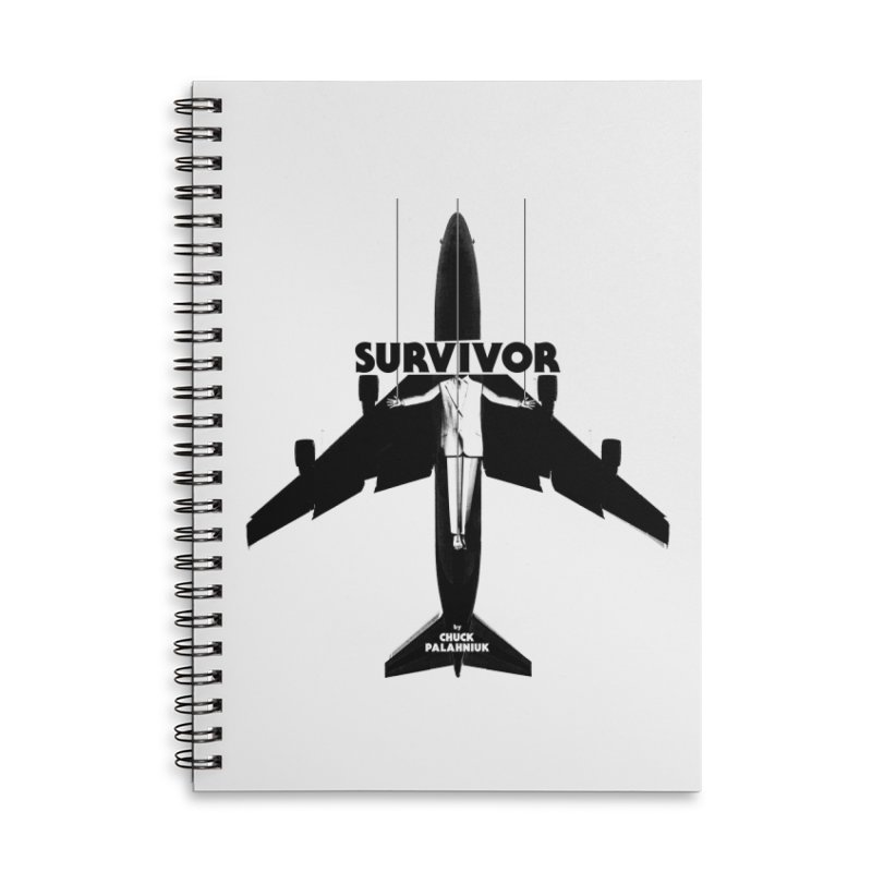 Survivor Accessories Notebook by The Official ChuckPalahniuk.net Shop
