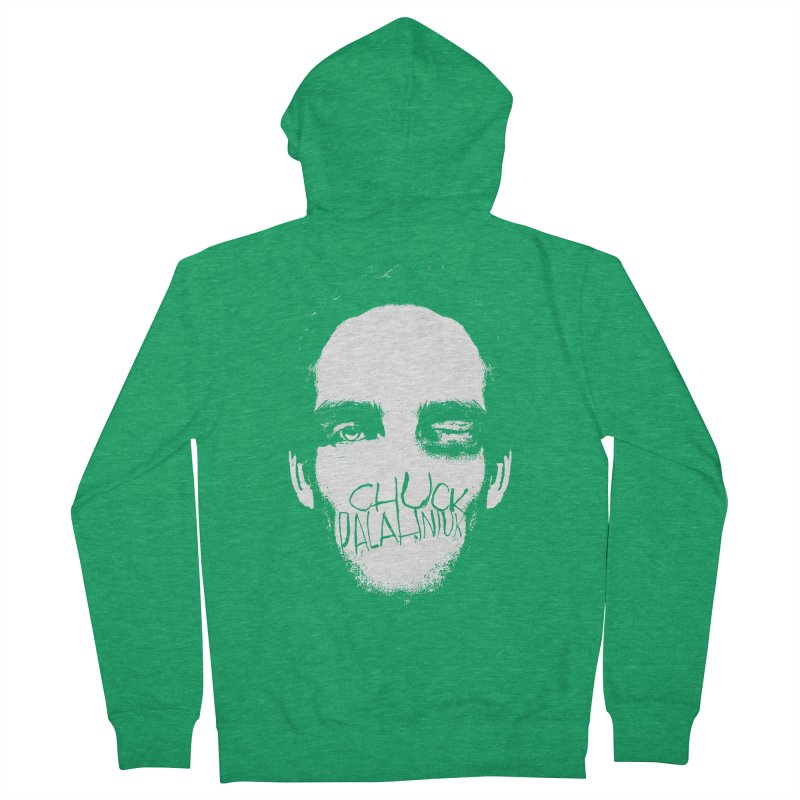 Bruiser Women's French Terry Zip-Up Hoody by The Official ChuckPalahniuk.net Shop
